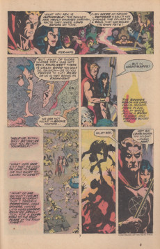 Extrait de Son of Satan (The) (Marvel comics - 1975) -8- Dance with the devil, my red-eyed son