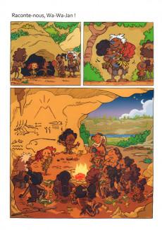 Extrait de Jan des cavernes