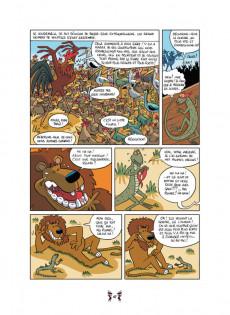 Extrait de Contes du monde en bandes dessinées -b2018- Contes africains en bandes dessinées