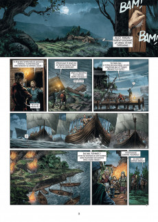 Extrait de Merlin (Istin/Lambert) -13- La crosse et le bâton
