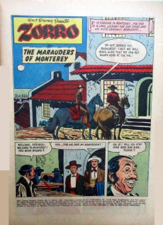 Extrait de Walt Disney Presents Zorro (Gold Key - 1966) -5- The Marauders of Monterey