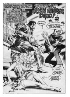 Extrait de Marvel Preview (Marvel comics - 1975) -3- The Night Josie Harper Died!