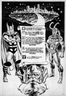 Extrait de Marvel Preview (Marvel comics - 1975) -10- Thor the Mighty!