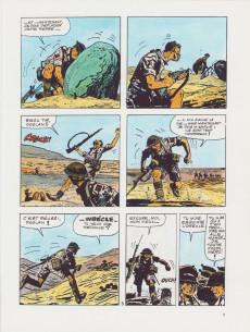 Extrait de Récits de guerre (Pratt) - Du sable, rien que du sable