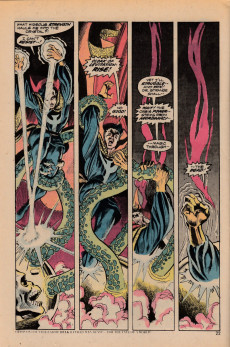 Extrait de Doctor Strange (1974) -1- Through an orb darkly