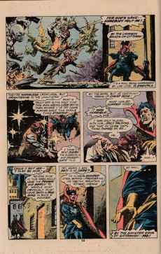 Extrait de Doctor Strange (1974) -26- The return of the ancient one
