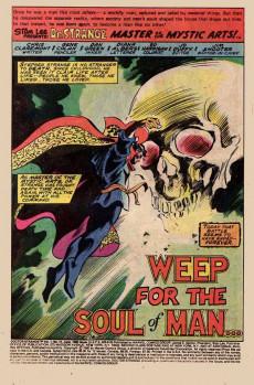Extrait de Doctor Strange (1974) -41a- Weep for the soul of man...