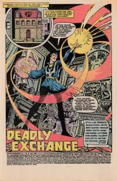 Extrait de Doctor Strange (1974) -70- Deadly exchange