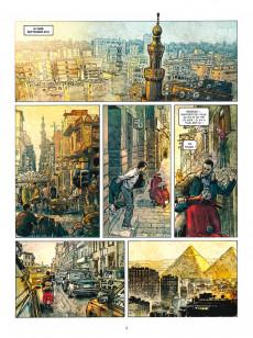 Extrait de Les deux Coeurs de l'Égypte -1- La barque des milliers d'années