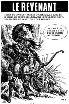 Extrait de Kalar -98- Le revenant