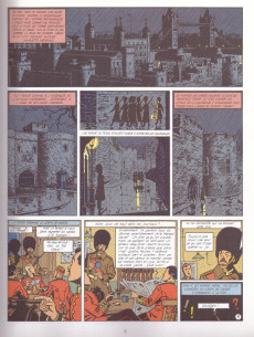 Extrait de Blake et Mortimer (Les Aventures de) -6b1996- La Marque Jaune