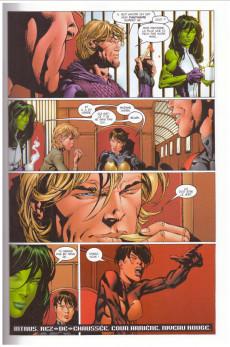 Extrait de New Avengers (The) (Marvel Deluxe - 2007) -1c15- Chaos