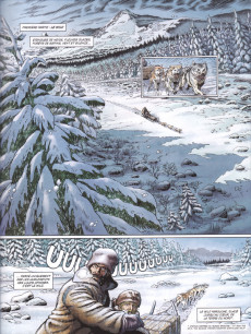 Extrait de Les grands Classiques de la littérature en bande dessinée -33- Croc-Blanc