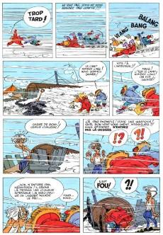Extrait de Spirou et Fantasio -13- Le voyageur du mésozoïque