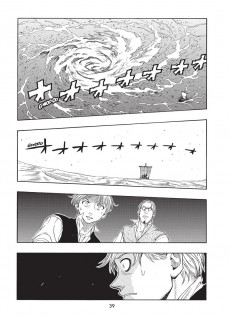 Extrait de Voyage au centre de la Terre (Kurazono) -3- Tome 3