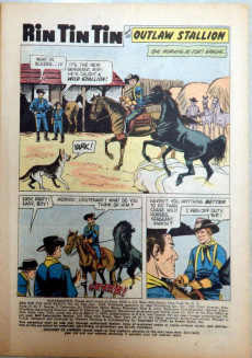 Extrait de Rin Tin Tin and Rusty (Dell - 1957) -29- (sans titre)