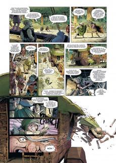 Extrait de Brocéliande - Forêt du petit peuple -4- Le Tombeau des géants
