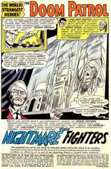 Extrait de Doom Patrol (1964) -94- The nightmare fighters