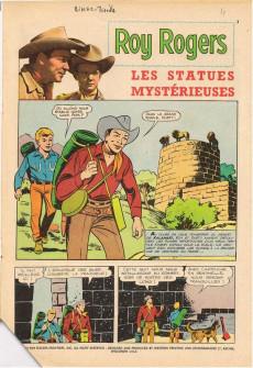 Extrait de Roy Rogers, le roi des cow-boys (3e série - vedettes T.V) -1- (sans titre)