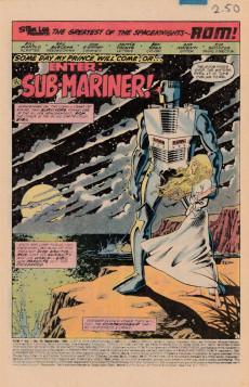 Extrait de Rom (1979) -34- Enter the Sub-Mariner