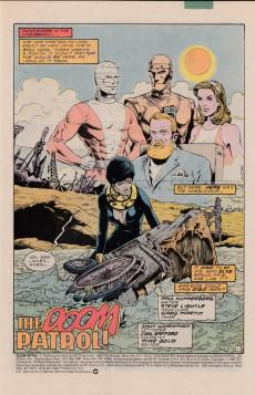 Extrait de Doom Patrol Vol.2 (DC Comics - 1987) -1- The Doom Patrol!