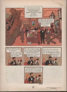 Extrait de Tintin (Historique) -12B36'- Le trésor de rackham le rouge