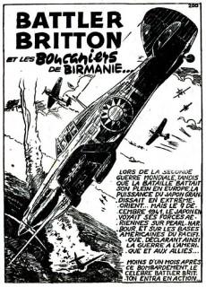 Extrait de Battler Britton -4- Les boucaniers de birmanie