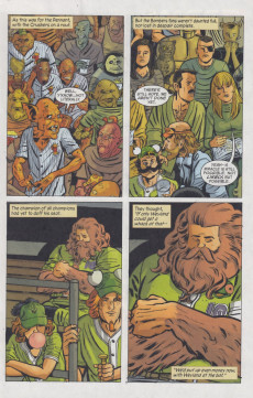 Extrait de Fables (2002) -92- Out of the ball game part one