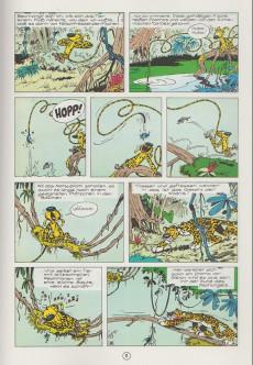 Extrait de Spirou und Fantasio  -10- Das nest im urwald