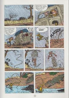 Extrait de Spirou und Fantasio  -9- Goldminen und gorillas