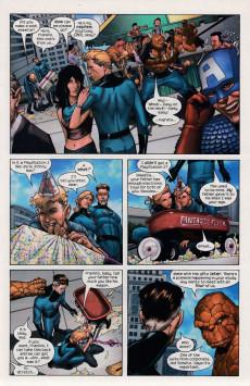 Extrait de Marvel Knights 4 (2004) -1- Wolf at the door part 1