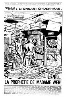 Extrait de L'Étonnant Spider-Man (Éditions Héritage) -113114- La prophétie de Madame Web !