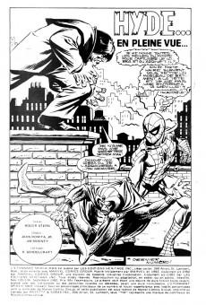 Extrait de L'Étonnant Spider-Man (Éditions Héritage) -135136- Hyde... en pleine vue...