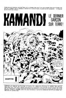 Extrait de Kamandi (Éditions Héritage) -2728- Le Baron rouge