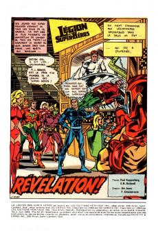 Extrait de La légion des super-héros (Éditions Héritage) -2- Révélation !