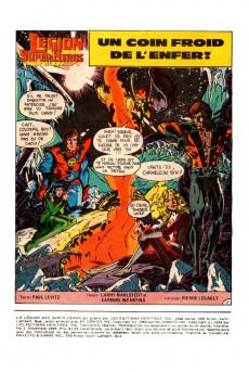 Extrait de La légion des super-héros (Éditions Héritage) -5- Un coin froid de l'enfer !