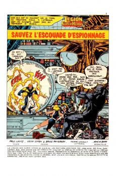 Extrait de La légion des super-héros (Éditions Héritage) -4- Sauvez l'escouade d'espionnage