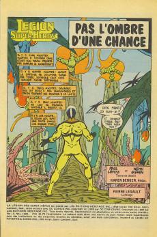 Extrait de La légion des super-héros et les nouveaux jeunes Titans (Editions Héritage) -15- Pas l'ombre d'une chance