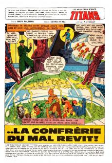 Extrait de La légion des super-héros et les nouveaux jeunes Titans (Editions Héritage) -10- ... la confrérie du mal revit !