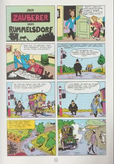 Extrait de Spirou und Fantasio  -1- Der zauberer von rummelsdorf