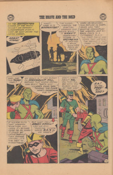 Extrait de Brave And the Bold (1955) -50- Green Arrow and Martian Manhunter