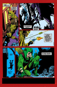 Extrait de Green Arrow (DC comics - 1988) -2- Hunters Moon part 2
