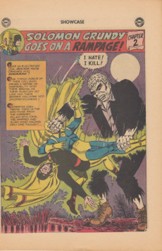 Extrait de Showcase (1956) -55- Doctor Fate and Hourman: Solomon Grundy goes on a rampage