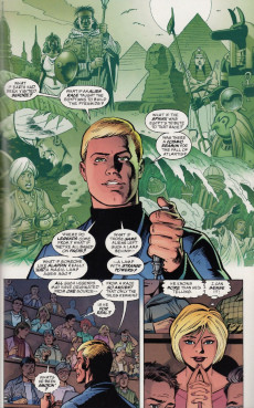 Extrait de Just Imagine Stan Lee With... - Dave Gibbons creating Green Lantern