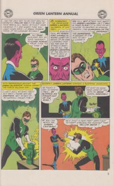 Extrait de Green Lantern Vol.2 (DC comics - 1960) -AN01- Giant Green Lantern annual 1