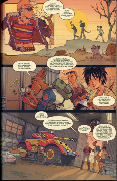 Extrait de Tank Girl -9- Two girls one tank