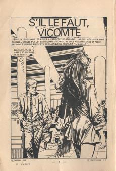 Extrait de Le vicomte (Comics Pocket) -12- S'il le faut Vicomte?