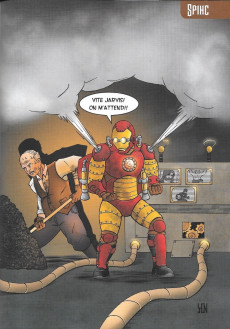 Extrait de Free Comic Book Day 2018 (France) - ComicsZone's Sketchbook - Steampunk