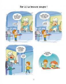 Extrait de La cantoche -3- À consommer sans modération