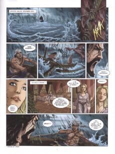 Extrait de Les grands Classiques de la littérature en bande dessinée (Glénat/Le Monde) -35- Sandokan et le Tigre de Monpracem